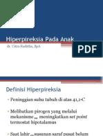 Hiperpireksia Pada Anak