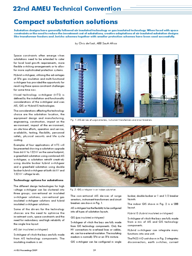 Compact Substation Solutions | Electrical Substation