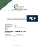 Informe Segunda Instancia. Jpfpg Doc