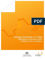 Doing Business in India Bribery and Corruption 2