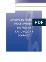 Manual_Politica de Facturacion y Cobranza