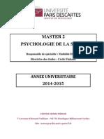 Brochure M2 Santé 2014-2015-V4