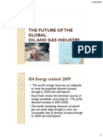 The Future of the Global Oil and Gas-1