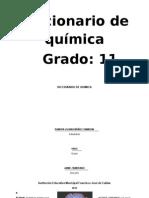 Diccionario de Quimica