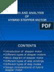 Design and Analysis of Hybrid Stepper Motor