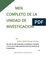 Resumen Completo de La Unidad de Investigacion