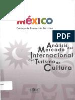 Análisis Del Mercado Internacional Del Turismo de Cultura CPTM, SIIMT