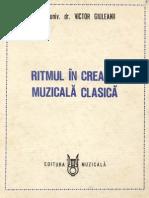 Giuleanu Victor Ritmul in Creatia Muzicala Clasica