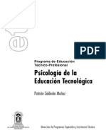 Texto Psicologia Educ Tecnologica