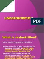 undernutrition.ppt