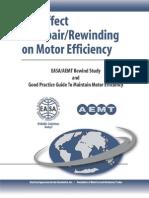 The Effect of Repair_Rewinding on Motor Efficiency — EASA_AEMT