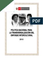 Politica Enfoque Intercultural