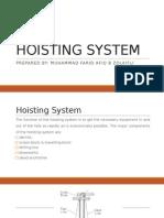 Hoisting System Presentation