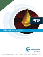 Oils & Fat Analysis