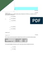 Test Autoevaluare info