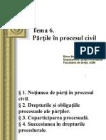 Părțile în procesul civil