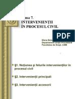intervinientii in procesul civil