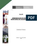 Compendio Teórico Armonización de Redes de Monito