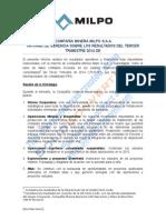 Informe de Gerencia Milpo 3t2014 v2