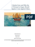 Why the Arbitrational Tribunal in Hague Should Dismiss Philippines