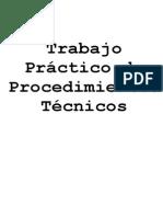 Procedimientos Técnicos