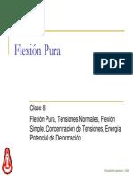Clase 8 - Flexion Pura V250505