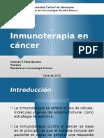 Inmunoterapia en Cancer