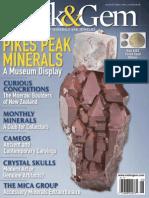 Rock & Gem Magazine - August 2014