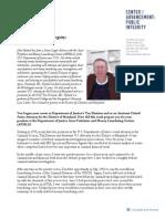 Profiles in Public Integrity - John Hyland, Jr.