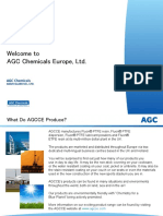 AGC Chemicals Europe, Ltd a leading producer of fluorochemicals and fluoropolymer materials used in everyday life
