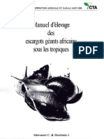 277 Manuel d Elevage Des Escargot Geants Africains