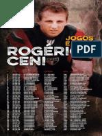 Jogos e Gols Rogério Ceni