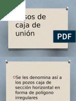 Pasos de Caja de Unión...
