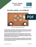Retro-Radio Conrad. Q Multiplier