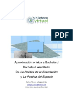 Aproximacion Onirica a Gaston Bachelard