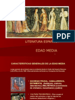 Literatura. Edad Media