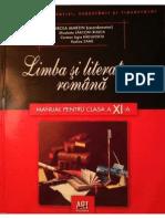 Manual Lb Romană XI