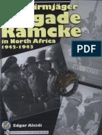 Fallschirmjager Brigade Ramcke in North Africa 1942 43