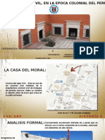Arquitectura Civil Analisis Arquitectonico Epoca Colonial