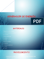 Generador de Energía