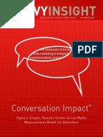 Ogilvy 360 Digital Influence Conversationimpact 2009