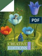 Creative Editions Spring 2016 Catalog