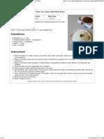 Basmati Rice Recipe _ How to Cook Perfect Basmati Rice