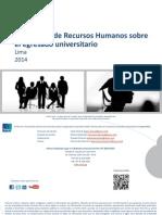 IPSOS - Perfil Del Egresado Universitario 2014