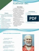 Aportes Significativos De Platón socrates y Arsitóteles