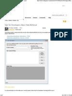 SQL for Developers_ Basic Data Retrieval - CodeProject