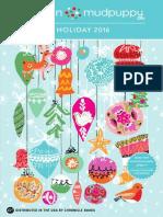 Galison Mudpuppy Holiday 2016 Catalog