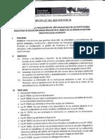 Directiva Finalización 2015 Ugel Hyo