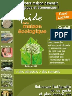 Guide Construire Et Renover | Écoconstruction | Rénovation