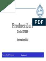 Produccion i Clase 1